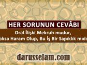 Oral İlişki Caiz mi Haram mı