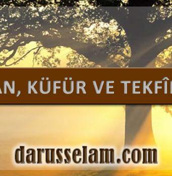 İman, Küfür ve Tekfir