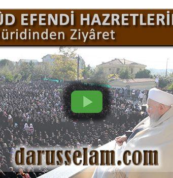 Mahmud Efendi Hazretlerine 20.000 Müridinden Ziyaret