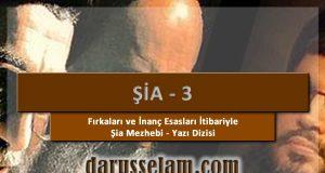 Fırkalari ve İnanc Esaslari İtibariyle Şia Mezhebi 3