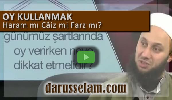 Video Fetva Oy Kullanmak Caiz mi Haram mı