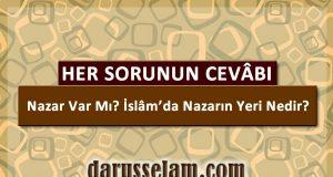 İslamda Nazar