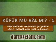 Allah Dostlarının Küfür gibi Gözüken Sözleri