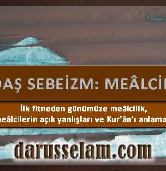 Çağdaş Sebeizm: Mealizm 2. Bölüm