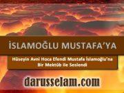 Mustafa İslamoğlu'na Açık Mektup