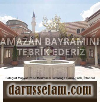 Ramazân Bayramı Tebriği 2016