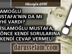 Mustafa İslamoğlu ve Şeyhler