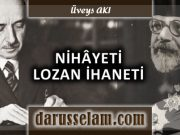 Haim Nahum, İsmet İnönü ve Lozan İhaneti