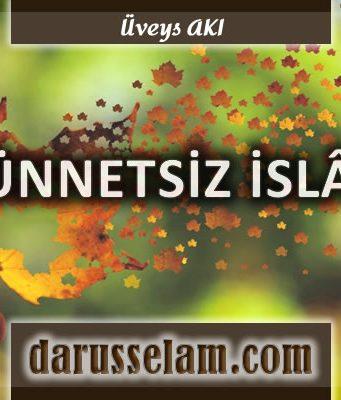 Sünnetsiz İslam Hedefi