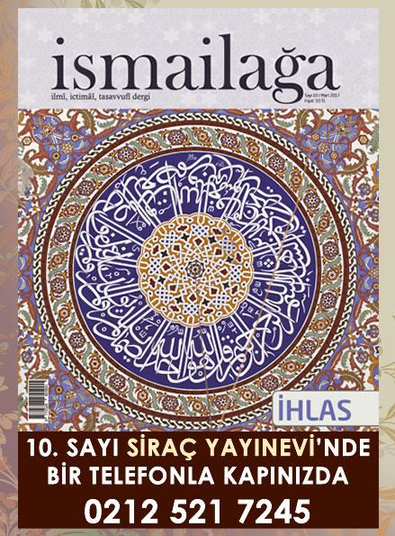 İsmailağa Dergisi - Banner