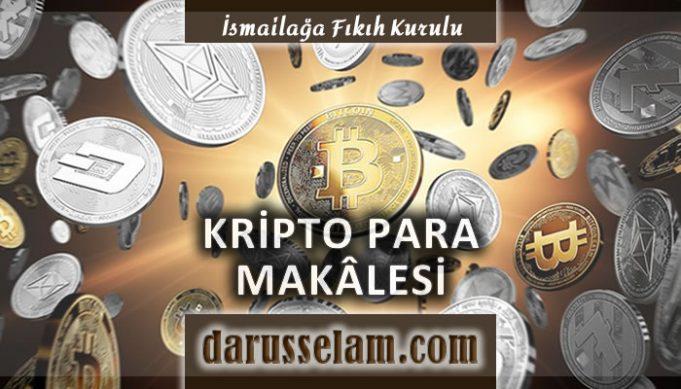 İslamda Kripto Para Nedir Caiz midir
