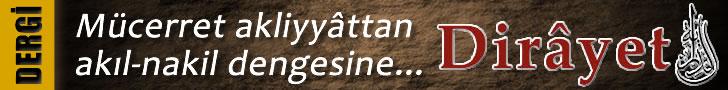 Dirayet Dergisi - Banner